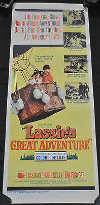 Lassie Adventures Original Movie Poster 14 x 36 #63/268 - FOX (1963) ITB WH