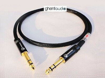D06 (1m 3ft) --- 6.35mm TRS Stereo Male to Male HIFI OFC Microphone Audio Cable