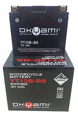 Batteria Okyami Yt12B-Bs 12 V 10 Ah Ducati Monster Ie 620 900 Multistrada 620