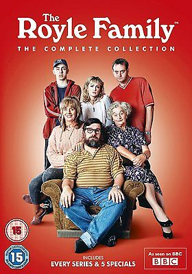 THE ROYLE FAMILY The Complete Collection 9 dvds SEALED/NEW series royal
