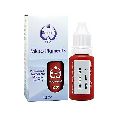 BioTouch 15ml REAL RED Cosmetic Pigment Color Tattoo Ink microblading supplies