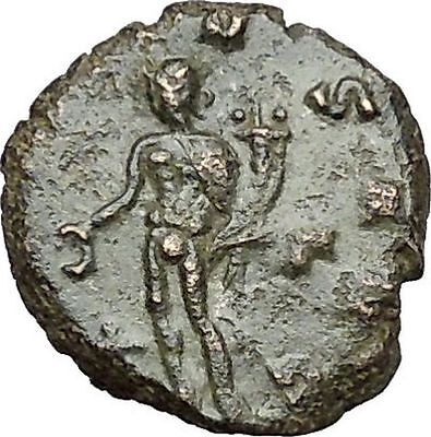 Claudius II Gothicus 268AD Ancient Roman Coin Genius Cult Protection  i40824