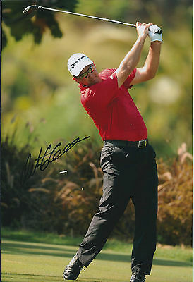 Retief GOOSEN SIGNED Autograph 12x8 Photo AFTAL COA European Golf Tour Winner