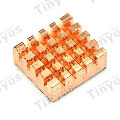 Brand New Copper Heatsink for Raspberry Pi 3/Pi 2/Model B+/Model A+