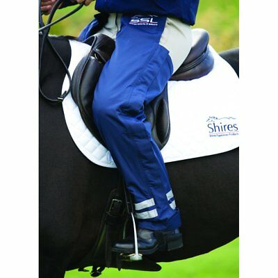 Shires Equestrian Winter Montana Chaps Navy