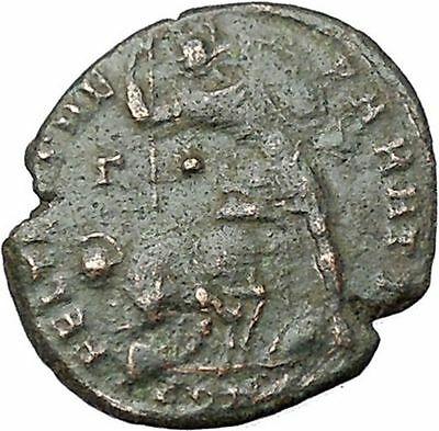 CONSTANTIUS II son of Constantine the Great Ancient Roman Coin Battle i40865