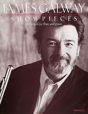 James Galway Showpieces Flute Piccolo & Piano Accompaniment Book NEW 014029979