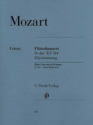Mozart Concerto No. 2 in D Major K. 314 Sheet Music for Flute & Piano  051480674