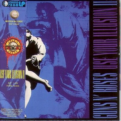 GUNS N ROSES - USE YOUR ILLUSION II 2 TWO - NEW SEALED MINI LP CD -SHIPS FROM NY