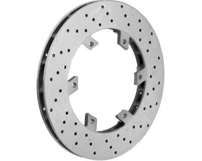 TonyKart / OTK Kart Genuine Rear Brake Disc 206 x 16mm EVRR EVK - Current