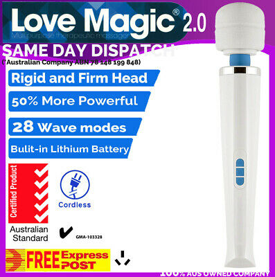 28 Modes CORDLESS LOVE MAGIC Wand 2.0 Body Personal Massager Vibrator HITACHI Mt