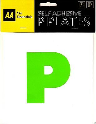 AA SELF ADHESIVE P PLATES : Quality Brand Secure PACK OF 2 : WH2 : 021 : NEW