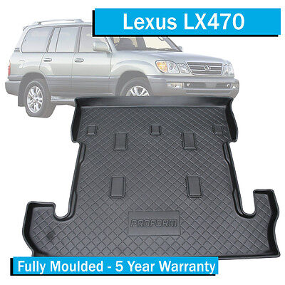 Lexus LX470 (1999-2007) - Boot Liner / Cargo Mat - With 3rd Row Seats