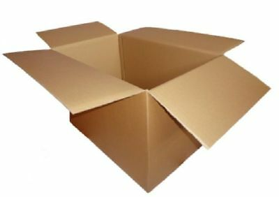 "Heavy Duty Strong Double Wall 30"" x 20"" x 20"" Cardboard Box in Various Quantity"