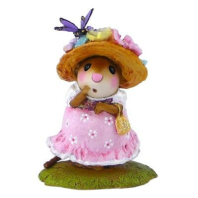 PETIT PAPILLON by Wee Forest Folk, WFF# M-503, Pink Girl w/butterfly