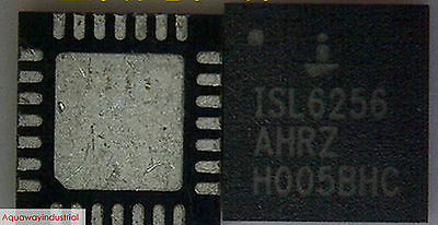 5x NEW INTERSIL ISL6256 ISL6256AHRZ QFN28 IC CHIPS