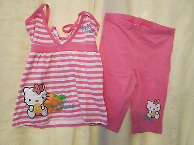 Sanrio,hello Kitty, 2-Piece Strappy/shorts -Pink,  Bnwt Age 4 Year