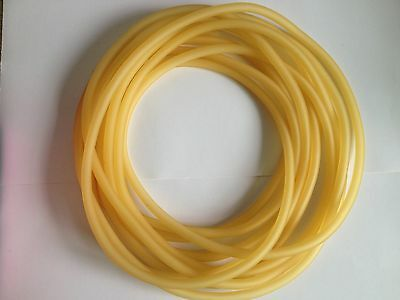 1meter Lab Tube  5mm( ID) X 7mm( OD) Latex Rubber Tubing