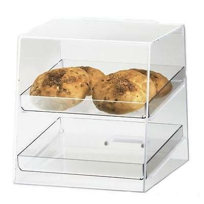Cal-Mil 280 2 Tray Countertop Display Case Bakery, Donut, Pastry