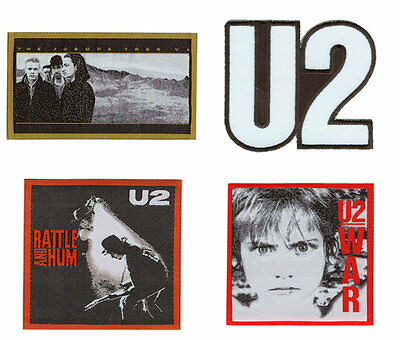 U2 Sew/Iron On Patch/Patches NEW OFFICIAL. Choice of 4 designs