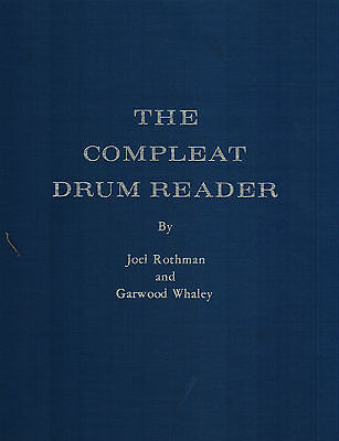 The Compleat Drum Reader by Joel Rothman Hardcover