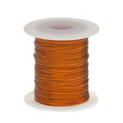 "20 AWG Gauge Enameled Copper Magnet Wire 8oz 157' Length 0.0343"" 200C Natural"