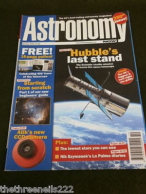 Astronomy Now - Hubble's Last Stand - Oct 2008