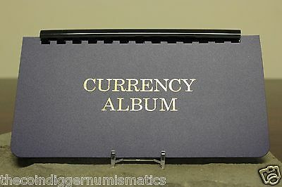 Whitman Large Currency Holder Album w Removable 10 Page Banknote Storage Case