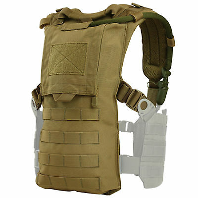 Condor 242 MOLLE Hydro Harness Modular Carrier Contoured Padded Straps Coyote
