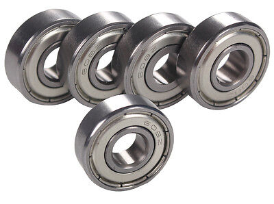 5pcs 608ZZ Bearing 608Z Deep Groove Ball Bearing 8mm*22mm*7mm Ball Bearing
