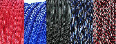 2MM Tight Braided PET Woven Expandable Sleeving Sleeve 8Meter 26Feet