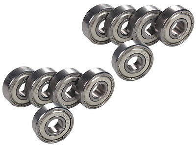 10pcs Ball Bearing 608ZZ Bearing 608Z Deep Groove Ball Bearing 8mm*22mm*7mm