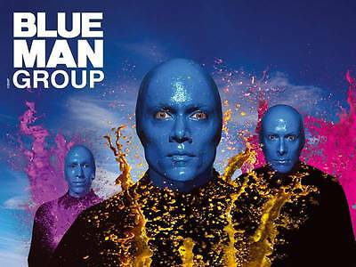 $50 OFF BLUE MAN GROUP SHOW ONLY $50 Ticket IN LAS VEGAS SAVINGS DISCOUNT PROMO