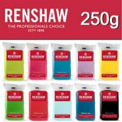 Renshaw Icing Ready To Roll Out Regalice Fondant 250g, 500g & Multipack options