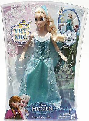 2014 Disney Frozen Princess Musical Magic Elsa - New in box - Fast shipping