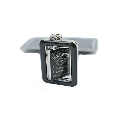 JACK DANIELS Old No.7 Metal Swivel KEY RING = GIFT! Man Cave Den