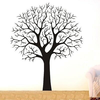 LARGE TREE BRANCH Wall Decor Removable Vinyl Decal HOME Sticker Art DIY Mural