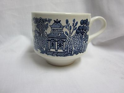 Blue Willow Tea Cup/mug Made in England