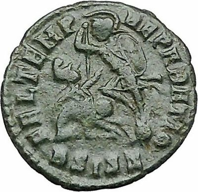 CONSTANTIUS II Constantine the Great son Ancient Roman Coin Battle Horse i40987