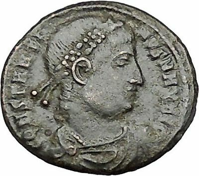 CONSTANTINE I the GREAT Ancient Roman Coin Legion Glory of the Army  i40994