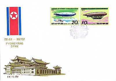 Brief Korea 1979 FDC 1816 - 1817 Luftschiffe BRS1039