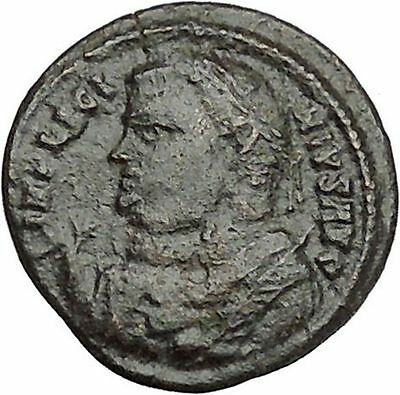 LICINIUS I Constantine I the Great enemy Ancient Roman Coin Camp Gate  i41026