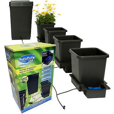 Autopot 4 Pot Hydroponic Grow System Kit With 47 Litre Tank