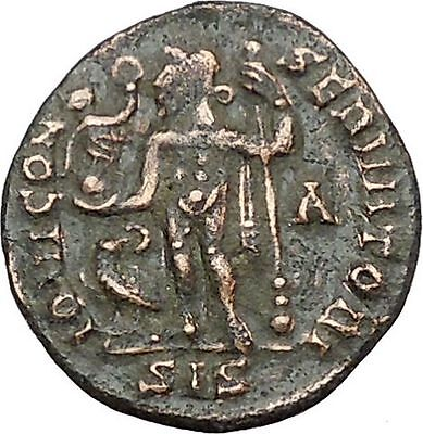 Licinius I Constantine The Great enemy 313AD Ancient Roman Coin Jupiter  i41308