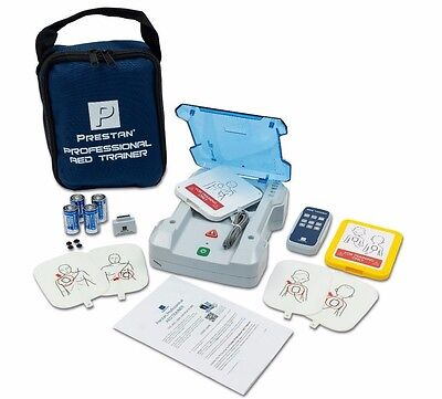 Prestan Deluxe AED Trainer Kit Adult/Child CPR Defib Training PP-AEDT-KIT-101