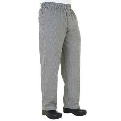 Chef Works - NBMZ-M - Checked Baggy Chef Pants (M)