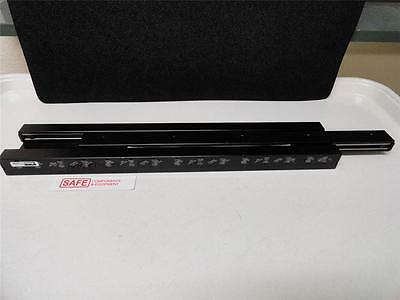 "PARKER 4612 Manual Linear Slide Ball Bearing Guide Rail 12"" Travel 205lb NEW F56"