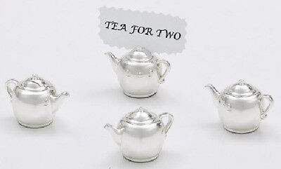 Teapot Place Card Holders Set of 4