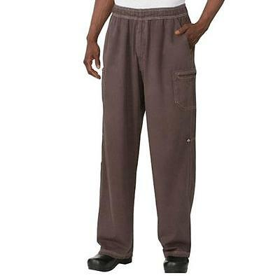 Chef Works - UPEW-CHO-2XL - Chocolate Brown Enzyme Utility Pants (2XL)