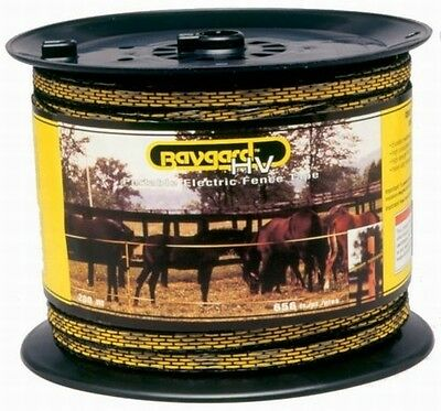 Parker mccrory mfg company 129 1/2 in. 656 ft. Havy Duty Electric Fence Tape